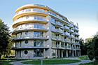 Gebäudeansicht Hotel Diune Seebad Kolberg