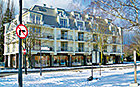 Hotel Arstone Swinemünde im Winter