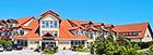 Teilansicht Hotel Kormoran von vorn
